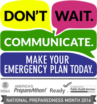 National Preparedness Month 2016
